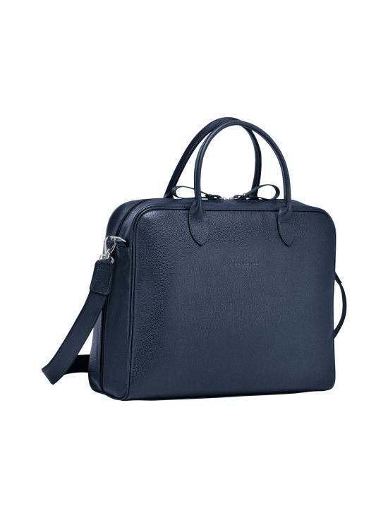 Longchamp - Le Foulonné - Briefcase M - Salkku - NAVY | Stockmann - photo 2