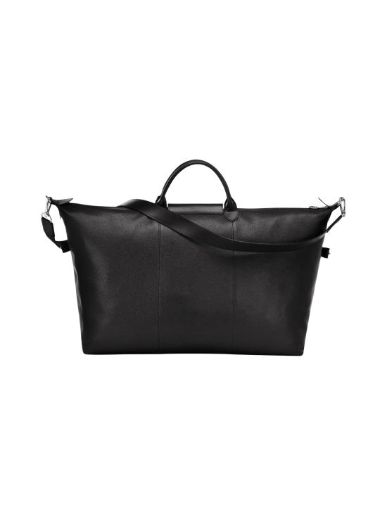 Longchamp - Le Foulonné Travel Bag - Nahkalaukku - BLACK   Stockmann - photo 3