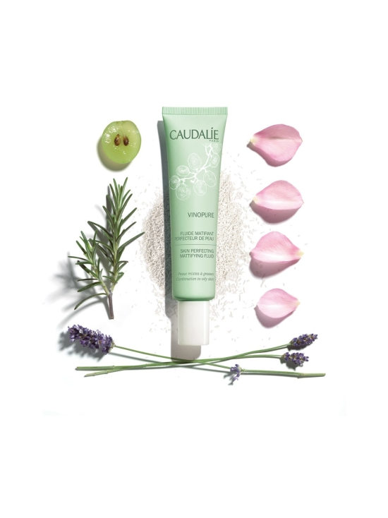 Caudalíe - Vinopure Skin Perfecting Matifying Fluid -hoitovoide 40ml | Stockmann - photo 1