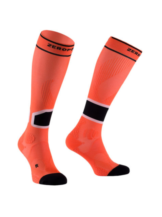 Zero Point - Intense 2.0 Compression Sock Men - DEVILS ORANGE (ORANSSI) | Stockmann - photo 1