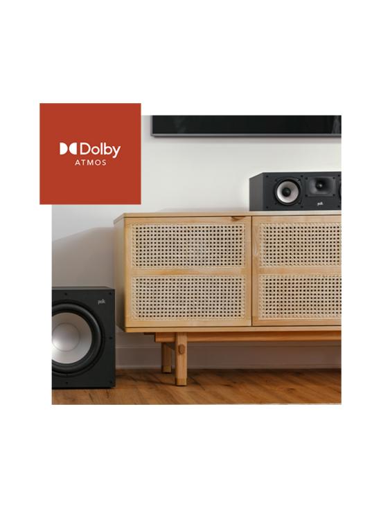 Polk Audio - Polk Audio MXT30C keskikaiutin, musta | Stockmann - photo 10