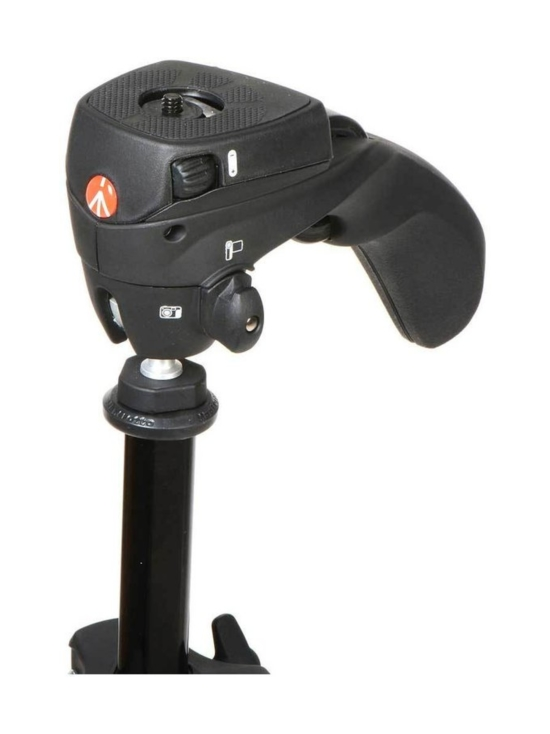 Manfrotto - Manfrotto Compact Action jalusta + kamerapää - Punainen | Stockmann - photo 3