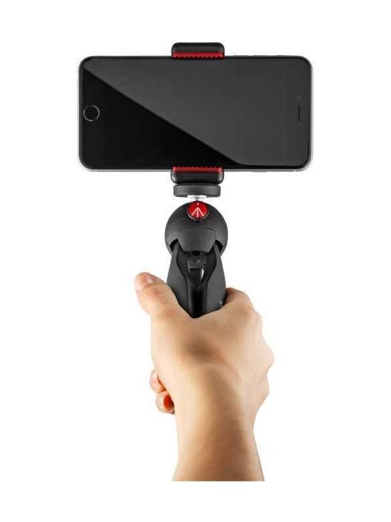 Manfrotto - Manfrotto Pixi Smart pöytäjalusta puhelinkiinnikkeellä - Musta - null | Stockmann - photo 5