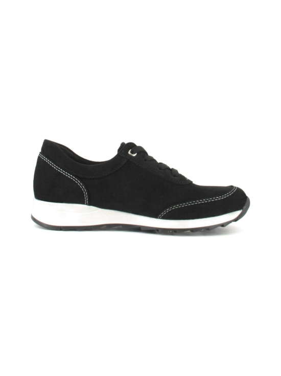 Pomar - MARJA Naisten Tennarit - BLACK SUEDE (WHT S) | Stockmann - photo 2