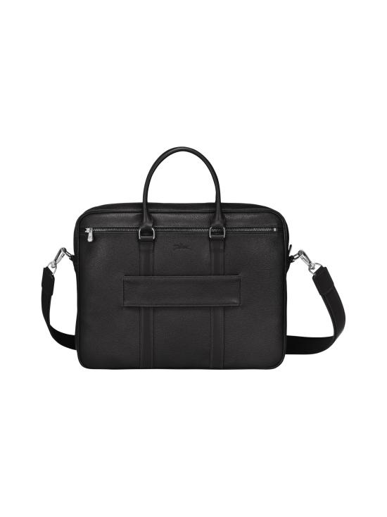 Longchamp - Le Foulonné - Briefcase S - Salkku - BLACK   Stockmann - photo 3
