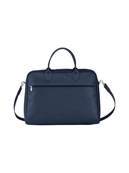 Longchamp - Le Foulonné - Briefcase L - Salkku - NAVY | Stockmann - photo 3