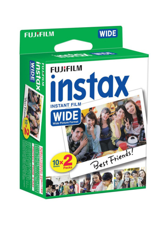 Fujifilm - Fujifilm Instax Wide Film (20 kuvaa) -pikafilmi | Stockmann - photo 1