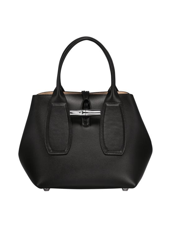 Longchamp - Roseau Box - Cube Bag - Nahkalaukku - BLACK | Stockmann - photo 1
