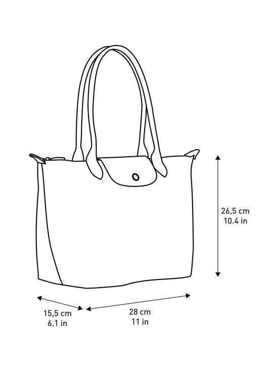 Longchamp - Le Pliage Shoulder Bag S -Laukku - RED   Stockmann - photo 5