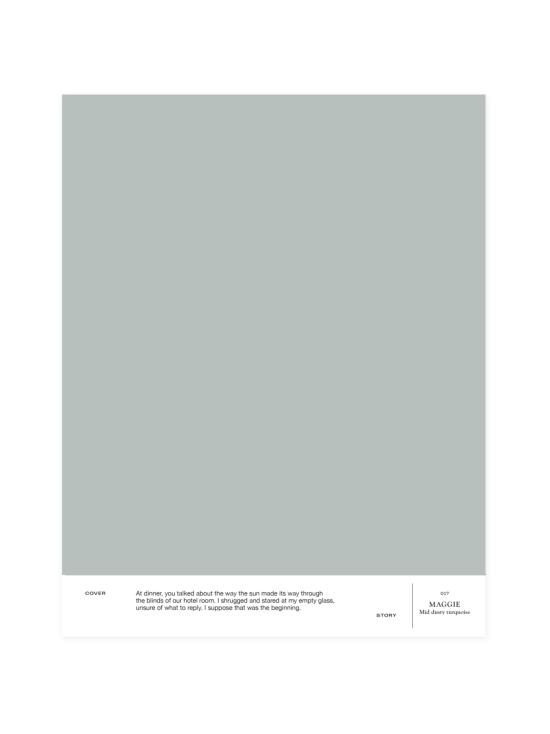 Cover Story - Sävymalli 017 MAGGIE - dusty water green | Stockmann - photo 1