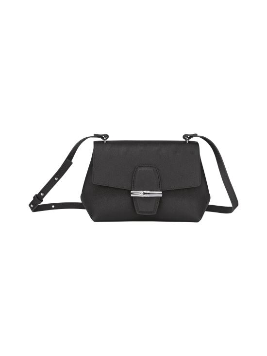 Longchamp - Roseau - Crossbody bag S - Nahkalaukku - BLACK   Stockmann - photo 1
