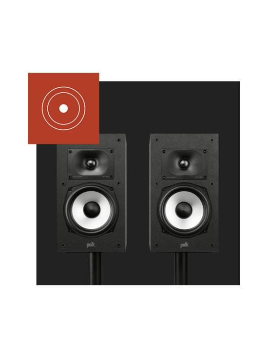 Polk Audio - Polk Audio MXT20 hyllykaiuttimet, musta | Stockmann - photo 9