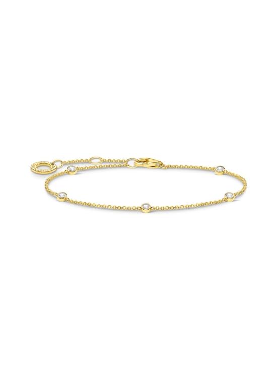 Thomas Sabo - Thomas Sabo Bracelet White Stones Gold -rannekoru | Stockmann - photo 1