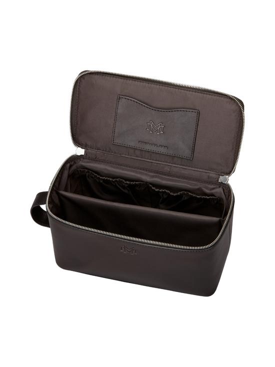 MMV Bags - Luton Leather Washbag -toilettilaukku - CHOCOLATE (TUMMANRUSKEA) | Stockmann - photo 4