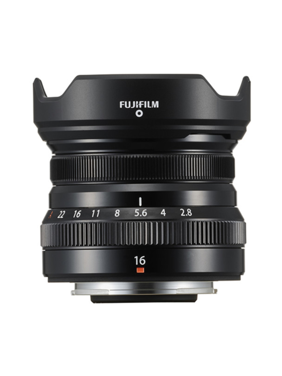 Fujifilm - FujiFilm XF 16mm f/2.8 R WR -objektiivi - Musta - 50e Cashback - null | Stockmann - photo 1