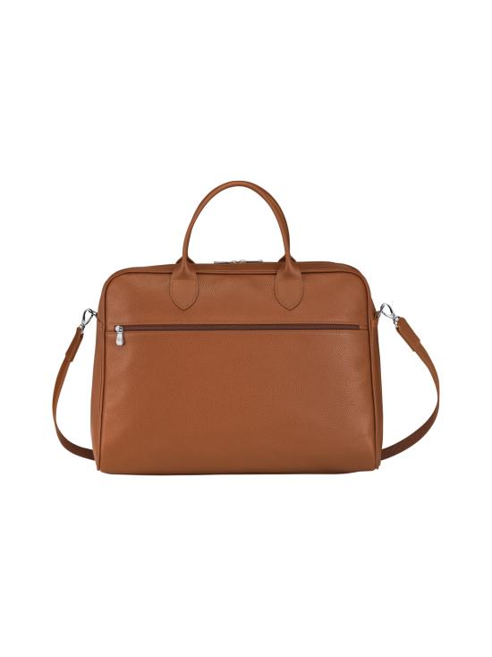 Longchamp - Le Foulonné - Briefcase L - Salkku - CARAMEL | Stockmann - photo 3