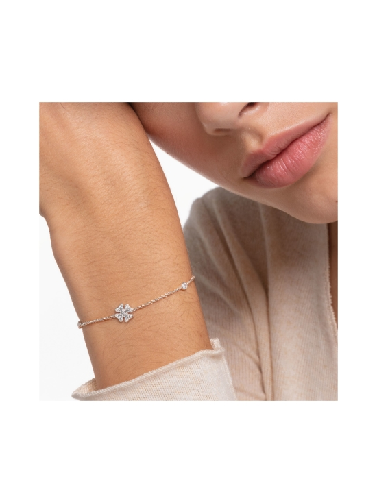 Thomas Sabo - Thomas Sabo Bracelet Cloverleaf with Stones Silver -rannekoru | Stockmann - photo 2