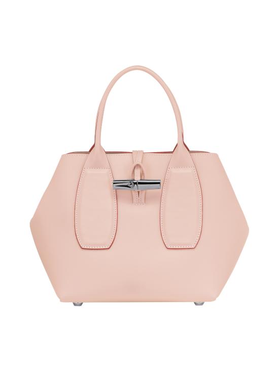 Longchamp - Roseau Box - Cube Bag - Nahkalaukku - POWDER | Stockmann - photo 1