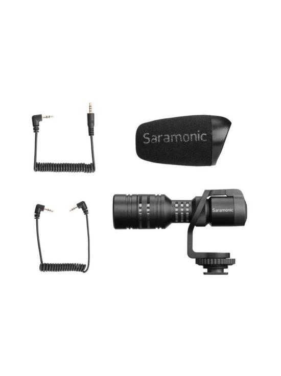 Saramonic - Saramonic Vmic Mini mikrofoni kameroille ja älypuhelimille   Stockmann - photo 1
