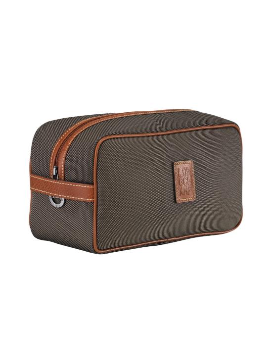 Longchamp - Boxford - Toiletry Case - Toilettilaukku - BROWN | Stockmann - photo 2