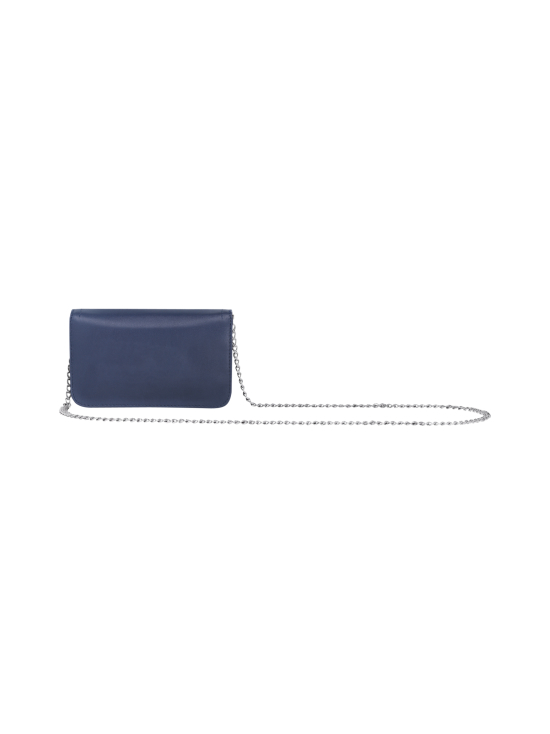 Longchamp - Cavalcade Wallet On Chain - Nahkalaukku - NAVY | Stockmann - photo 3