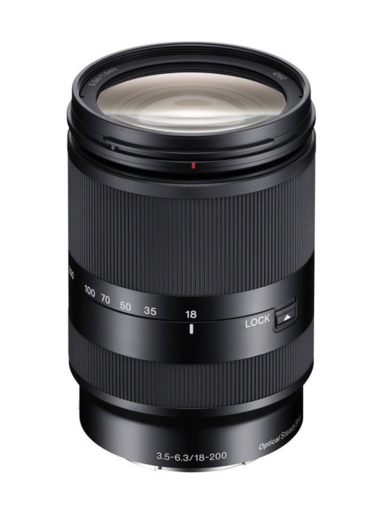 Sony - Sony SEL 18-200mm f/3.5-6.3 LE OSS + 50e Cashback - null | Stockmann - photo 1