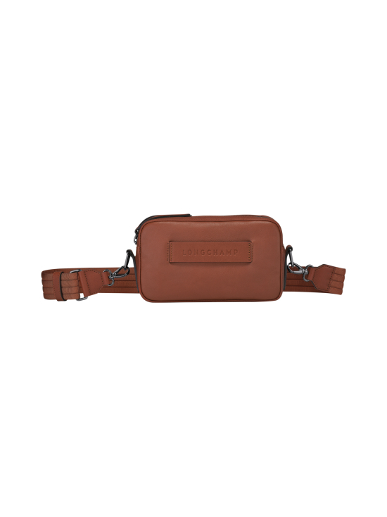 Longchamp - Longchamp 3D - Crossbody Bag - Nahkalaukku - COGNAC | Stockmann - photo 1