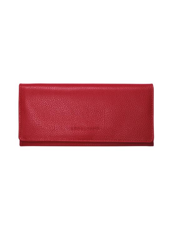 Longchamp - Le Foulonné – Long Continental Wallet – Nahkalompakko - RED   Stockmann - photo 1