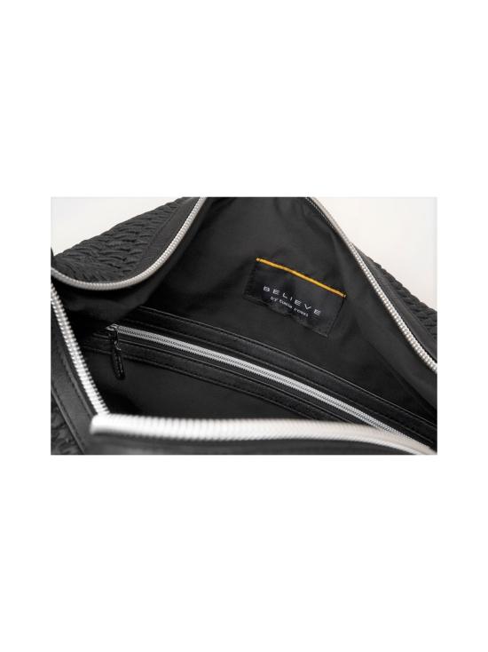 BELIEVE by tuula rossi - SMART BAG Black Stretch Tikkikangas Käsilaukku - BLACK, MUSTA | Stockmann - photo 4