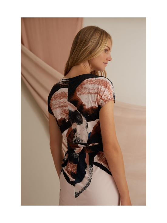 ANNIE Kuvioitu trikoomekko