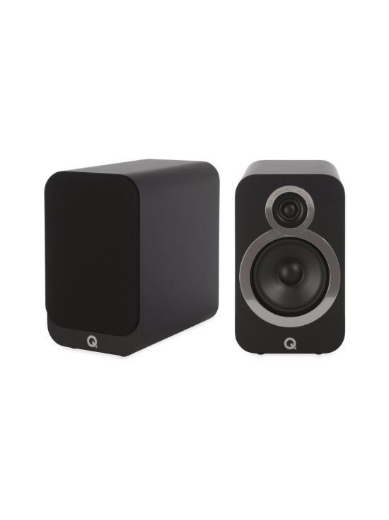 Q Acoustics - Q Acoustics Q3020i hyllykaiutin, musta | Stockmann - photo 1
