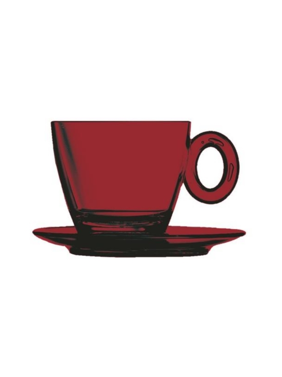 Mepra - Policarbonato-kahvikuppi ja aluslautanen - GRANATE | Stockmann - photo 1