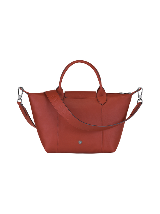 Longchamp - Le Pliage Cuir Top Hadle Bag S - Nahkalaukku - SIENNA | Stockmann - photo 3