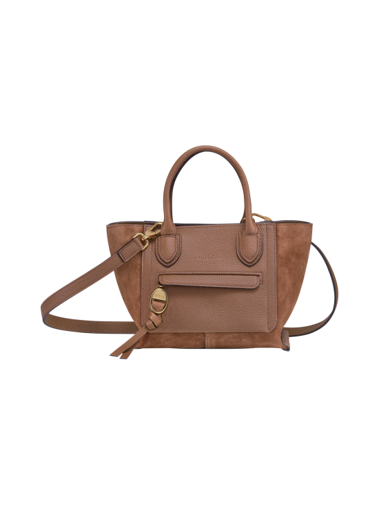 Longchamp - MAILBOX SOFT - TOP HANDLE BAG S - NAHKALAUKKU - COGNAC | Stockmann - photo 1