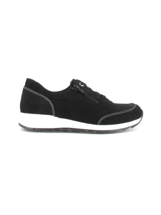 Pomar - MARJA Naisten Tennarit - BLACK SUEDE (WHT S) | Stockmann - photo 5