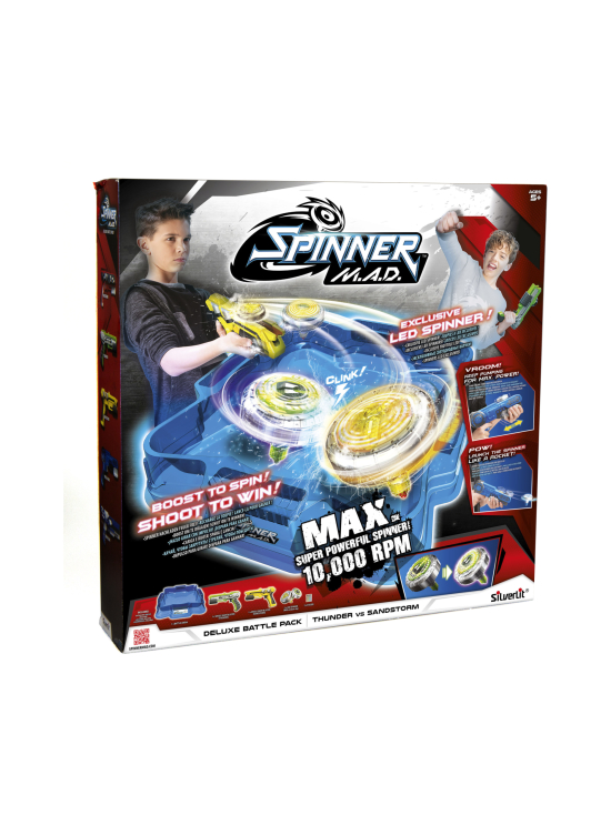 Silverlit - SILVERLIT Spinner M.A.D Deluxe Battle Pack lajitelma - null | Stockmann - photo 1