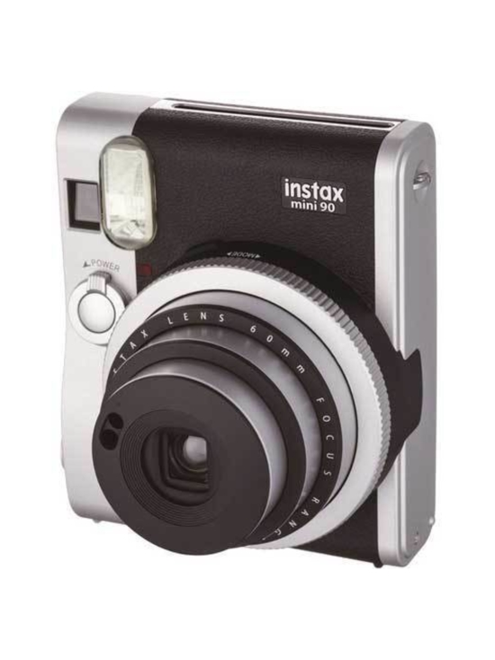 Fujifilm - Fujifilm Instax Mini 90 Neo Classic pikakamera - Musta   Stockmann - photo 4