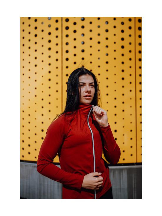 Yvette Belinda treenitakki, punainen