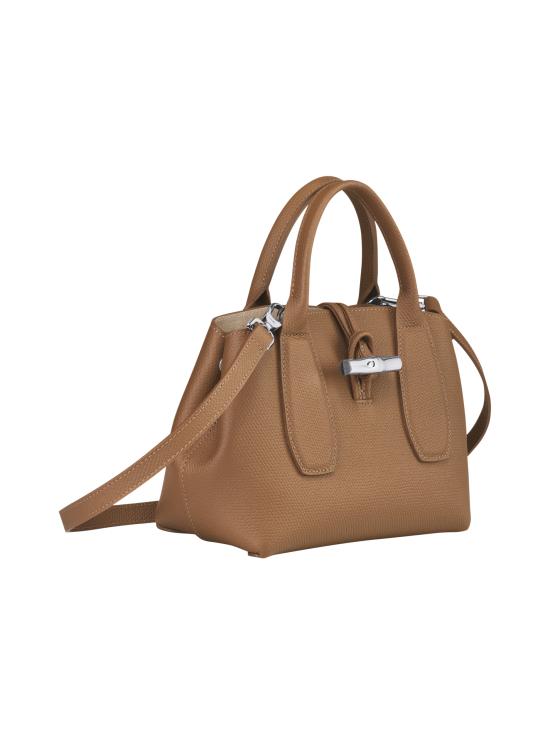 Longchamp - Roseau - Top handle bag S - Nahkalaukku - NATURAL | Stockmann - photo 3