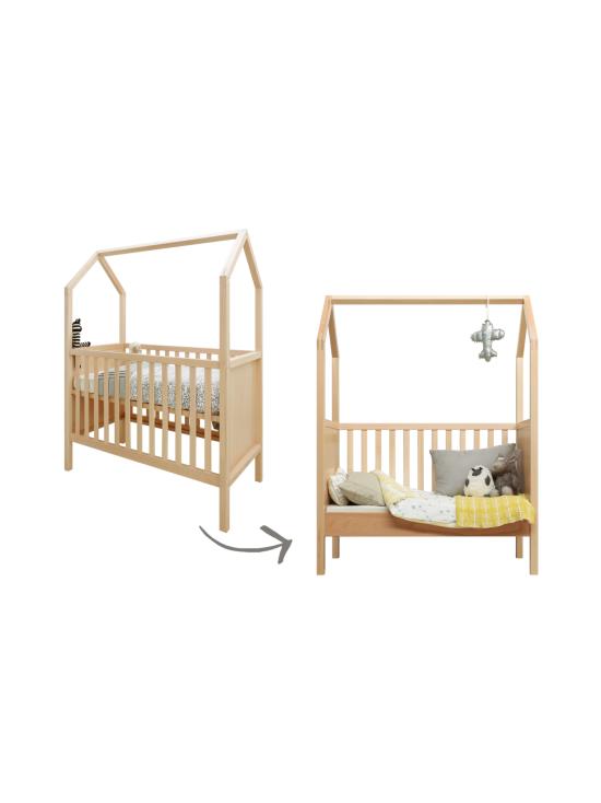 Lastenhuone.fi - My House Pinnasänky / lastensänky pyökki, 60cm x 120cm - PYÖKKI | Stockmann - photo 1