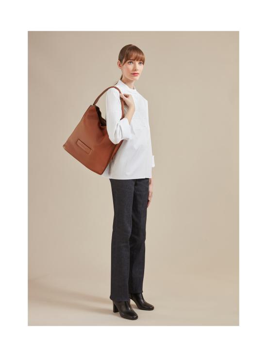 Longchamp - Longchamp 3D Hobo Bag - Nahkalaukku - MIDNIGHT BLUE | Stockmann - photo 4