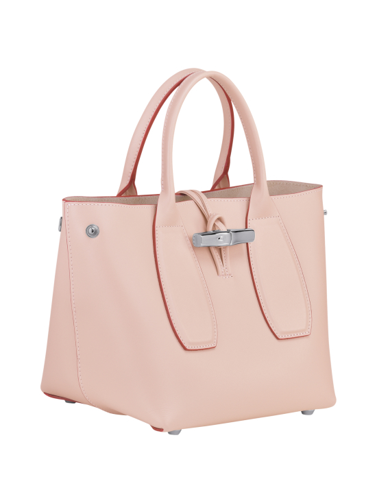 Longchamp - Roseau Box - Cube Bag - Nahkalaukku - POWDER | Stockmann - photo 3