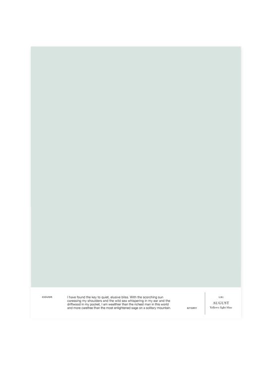 Cover Story - Sävymalli LB1 AUGUST - yellowy light blue | Stockmann - photo 1