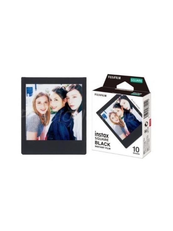 Fujifilm - Fujifilm Instax Film Square Black Frame (10 kuvaa) pikafilmi mustalla kehyksellä | Stockmann - photo 2