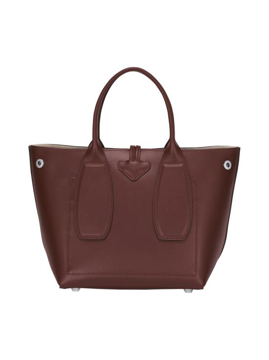 Longchamp - Roseau Box - Cube Bag - Nahkalaukku - MAHOGANY | Stockmann - photo 4