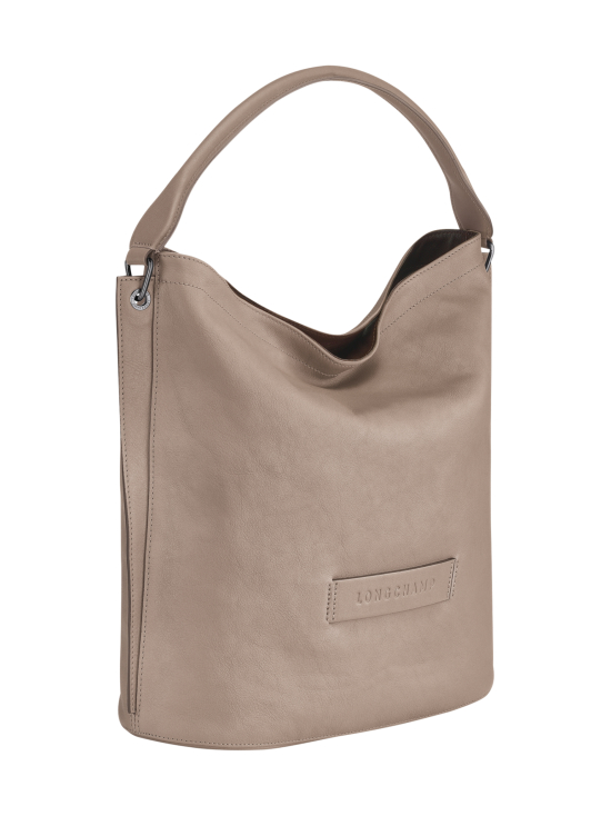Longchamp - Longchamp 3D Hobo Bag - Nahkalaukku - BROWN | Stockmann - photo 2