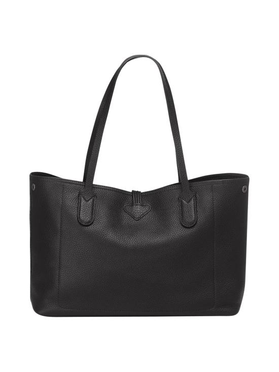 Longchamp - Roseau Essential - Shoulder Bag M - Nahkalaukku - BLACK   Stockmann - photo 3