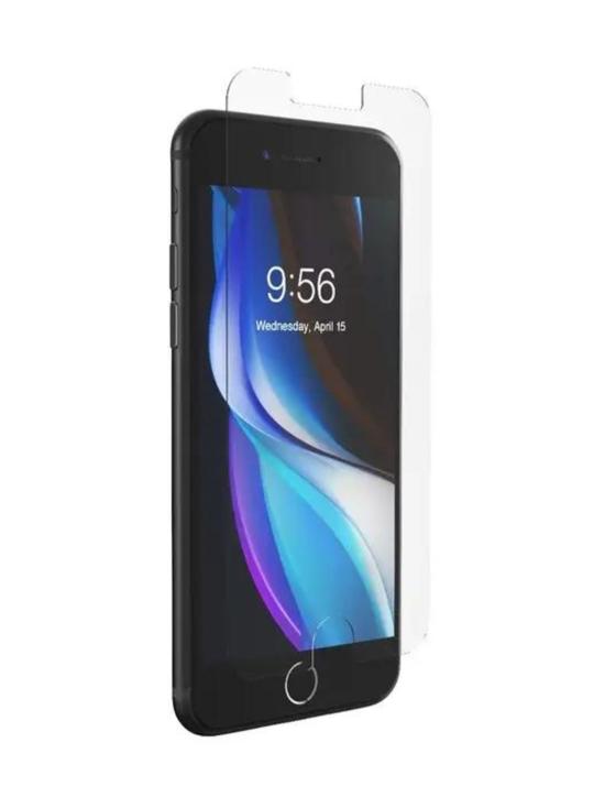 Zagg - InvisibleShield Glass Elite VisionGuard iPhone SE/8/7/6 -näytönsuoja   Stockmann - photo 1
