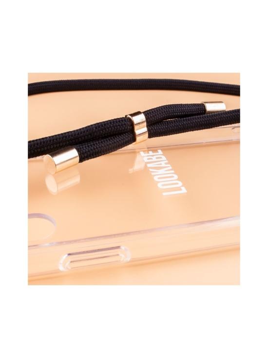 LOOKABE - Phone Necklace kotelo + kaulanauha Iphone 8/7 - CLEAR/BLACK   Stockmann - photo 2