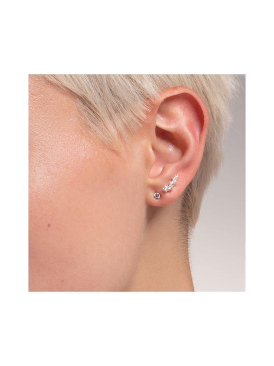 Thomas Sabo - Thomas Sabo Ear Climber White Stones Silver -korvakorut | Stockmann - photo 3
